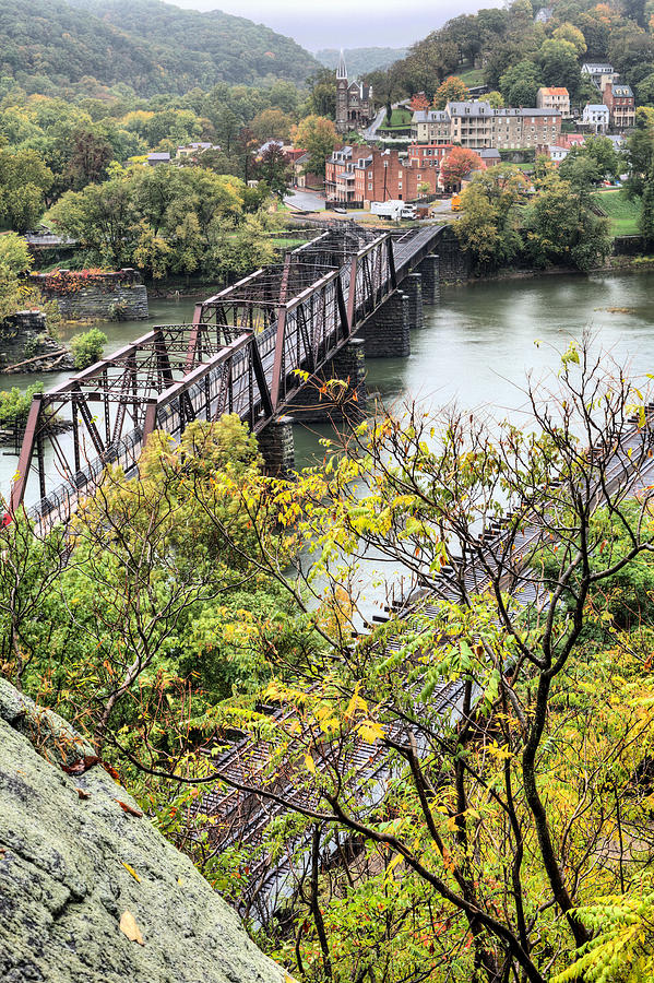 Harpers Ferry Photograph - Harpers Ferry by JC Findley
