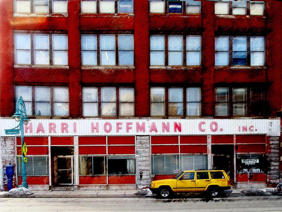 Milwaukee Digital Art - Harri Hoffmann Co by David Blank