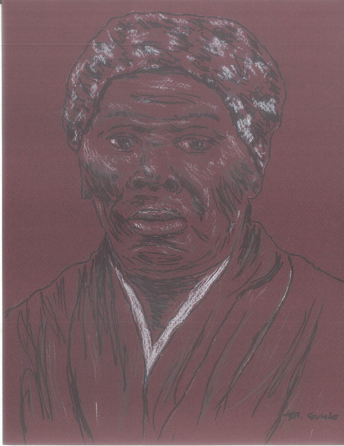 Abolitionist Drawing - Harriet Tubman by Bob Gumbs