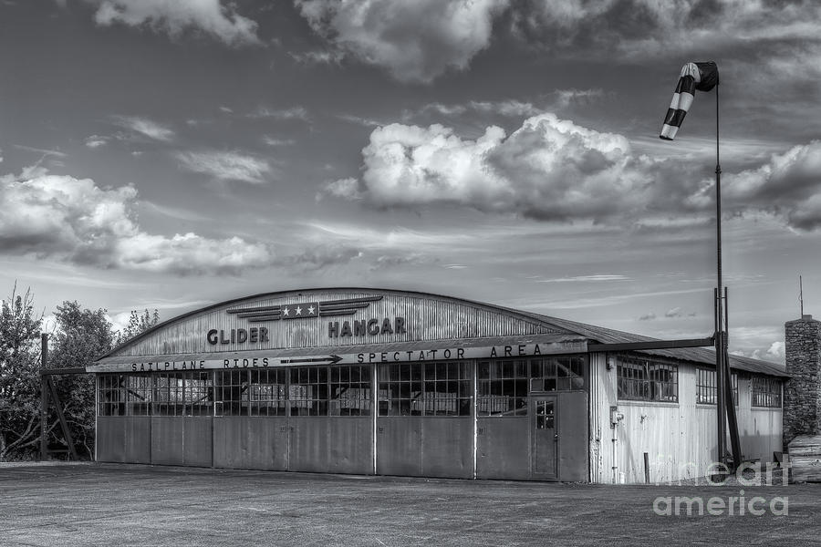 America Photograph - Harris Hill Glider Hangar Iv by Clarence Holmes