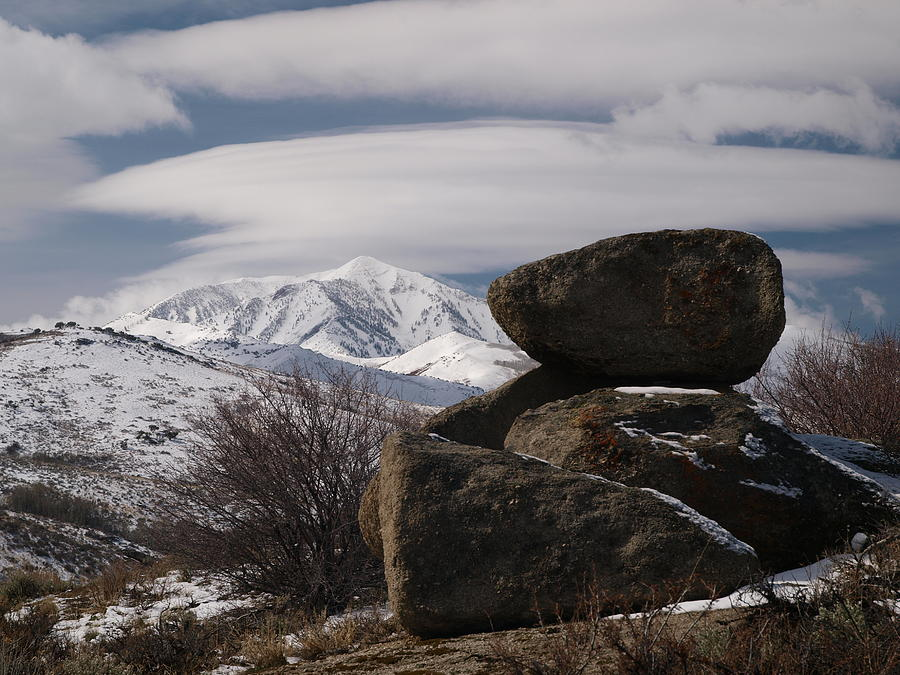 Elko Photograph - Harrison Pass by Jenessa Rahn