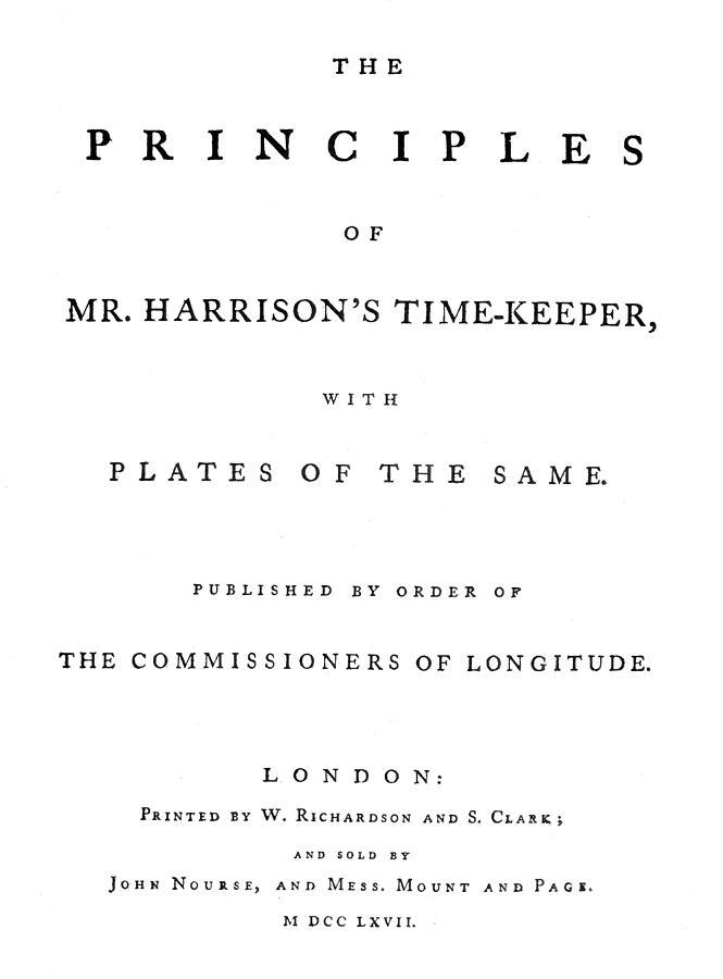 1767 Painting - Harrison Timekeeper by Granger