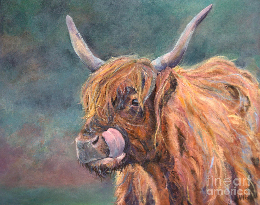 Animals Painting - Harry Coo by Stephanie Allison