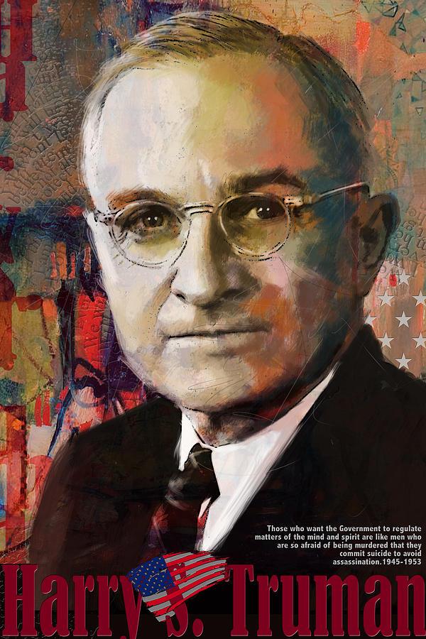 Harry S. Truman Painting