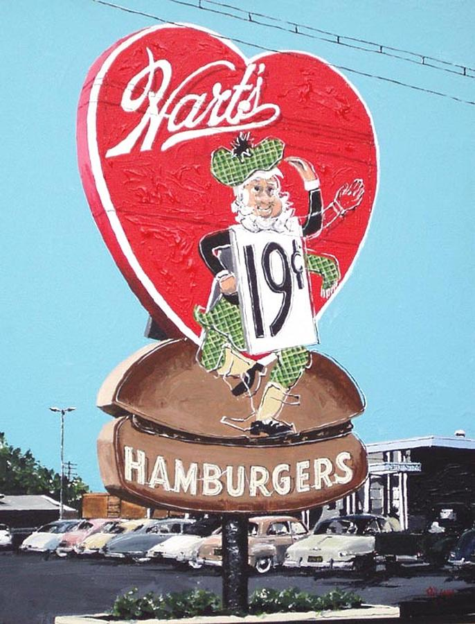 Sacramento Painting - Harts by Paul Guyer