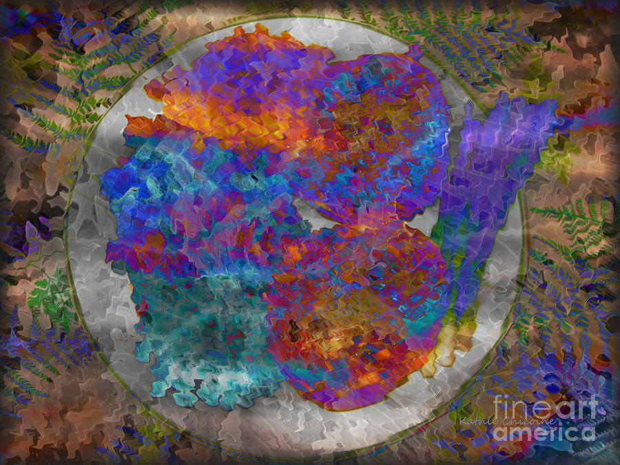 Abstract Photograph - Harvest by Kathie Chicoine