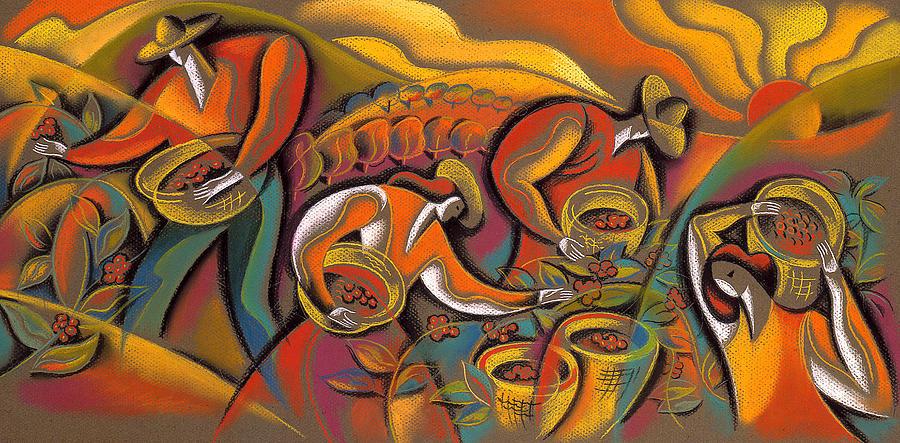 Harvest  Painting by Leon Zernitsky