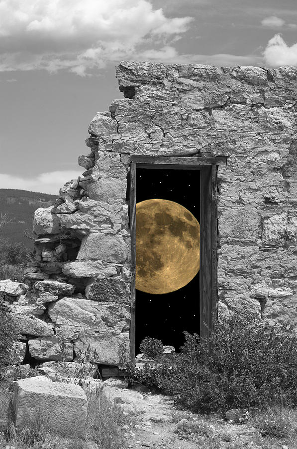Harvest Moon Through The Magic Door by Greg Wells