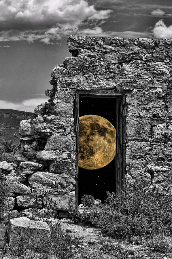 Harvest Moon Through The Magic Door Version 2 by Greg Wells