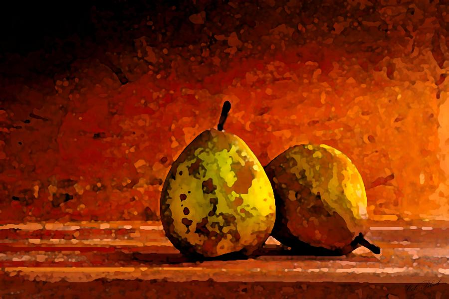 Pear Painting - Harvest Pairs by Cole Black