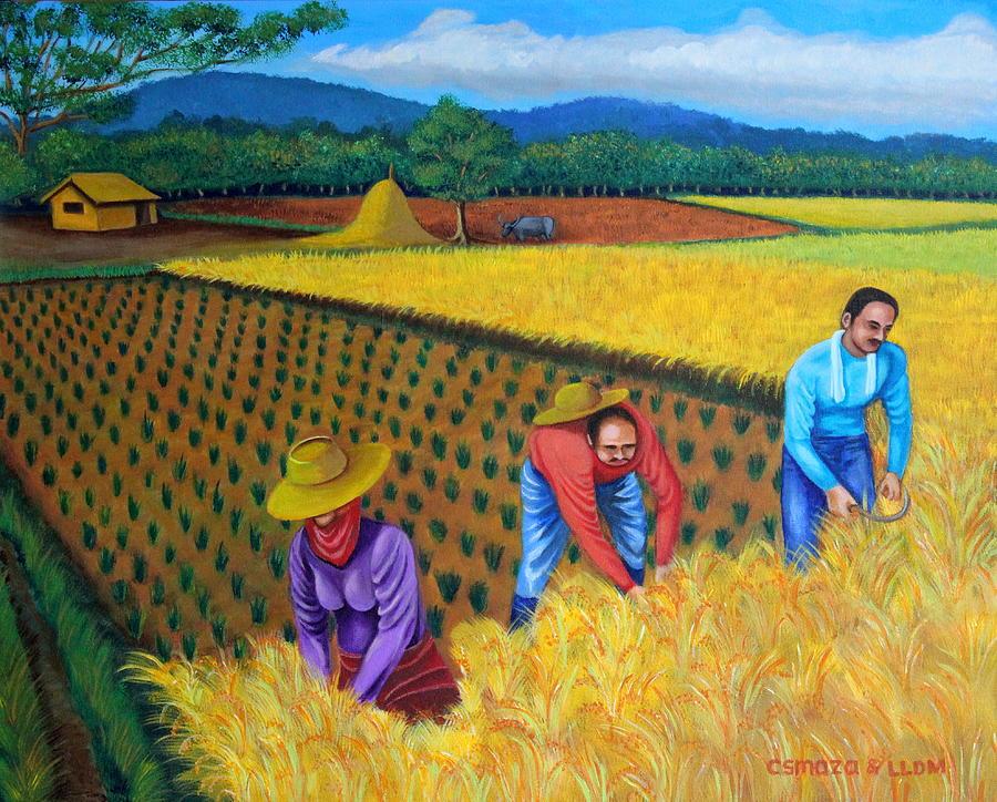 Harvest Season Painting