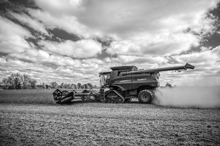 Harvest Time Photograph - Harvest Time by Dale Kincaid