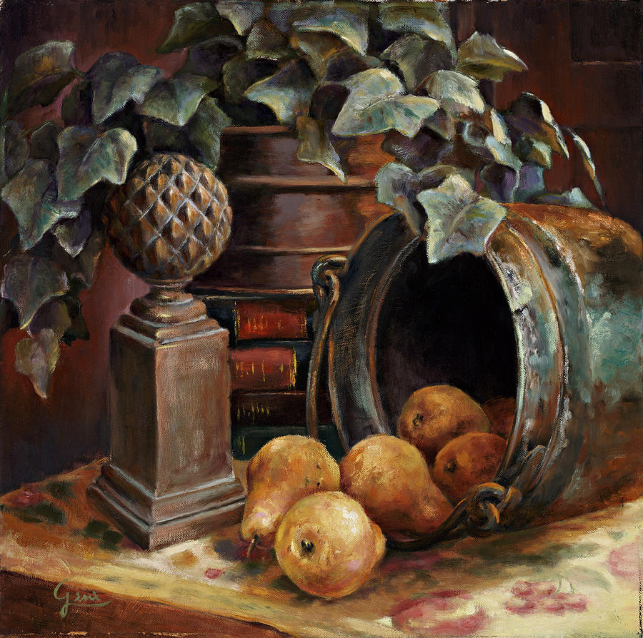 Still Life Painting - Harvest Time by Gini Heywood