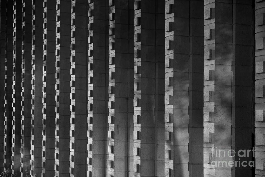1970 Photograph - Harvey Mudd College Columns by University Icons