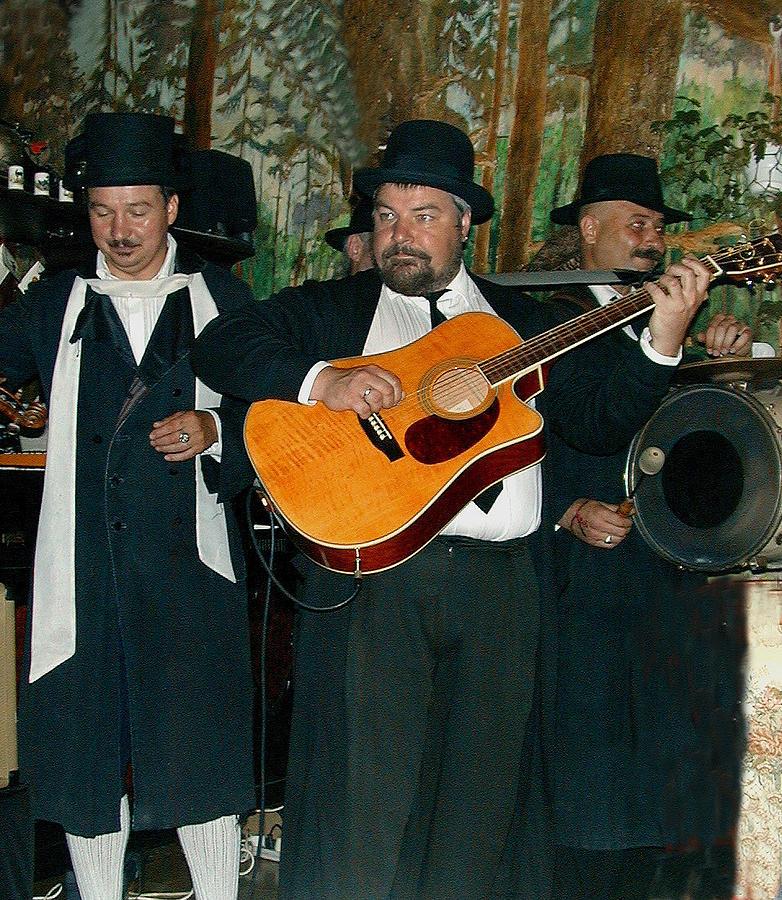 Hasidic Photograph - Hasidic Jews In Crakow Poland by Bill Marder