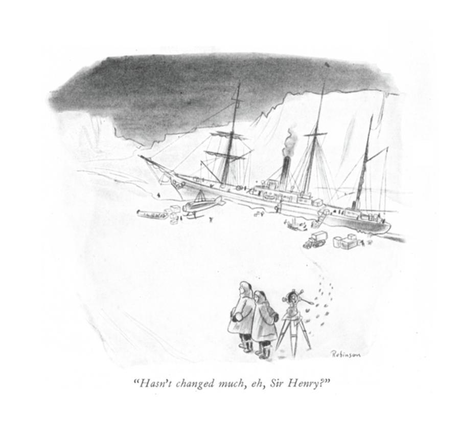 Hasnt Changed Much Drawing by W Heath Robinson