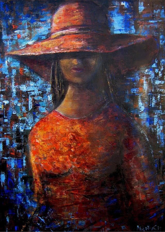 Hat Painting - Hat 3 by Mocanu Marius