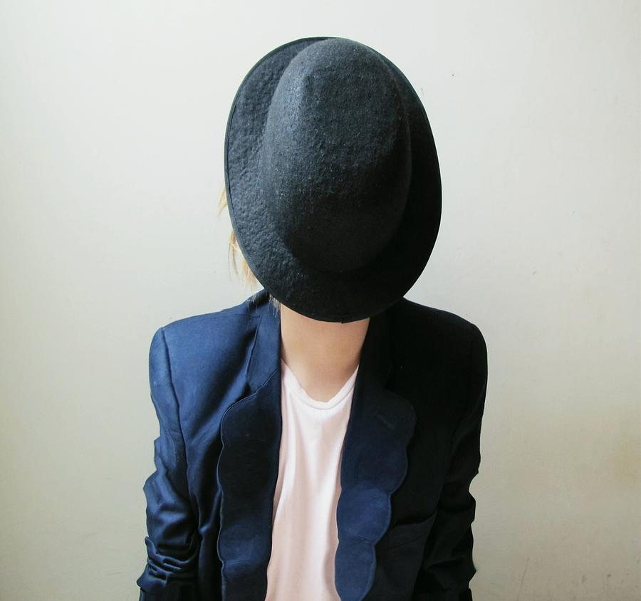 Hat Very Shy Photograph by Heitor Magno
