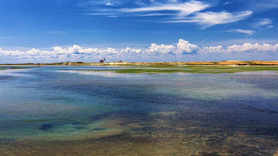 Race Point Photograph - Hatches Harbor by Bill Wakeley
