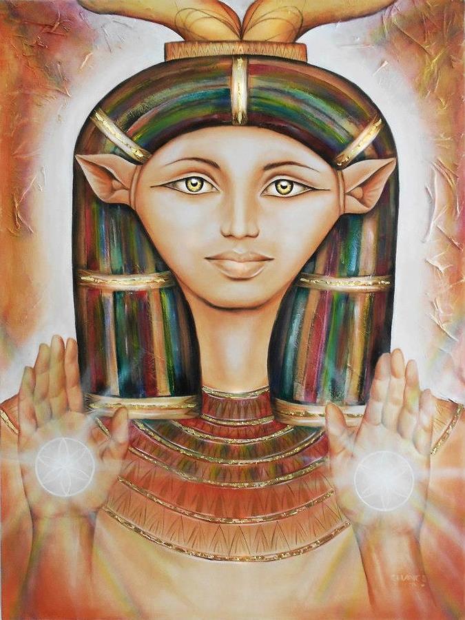 Hathor Rendition by Robyn Chance