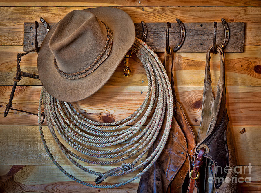 Hats And Chaps Photograph