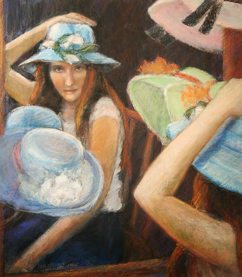Hats Painting by Helen Hickey