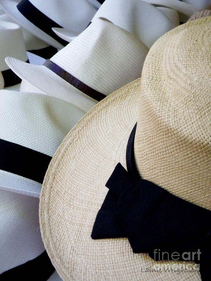 Hat Photograph - Hats Off To You by Lainie Wrightson