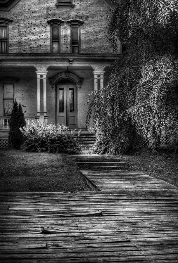 Savad Photograph - Haunted - Haunted II by Mike Savad