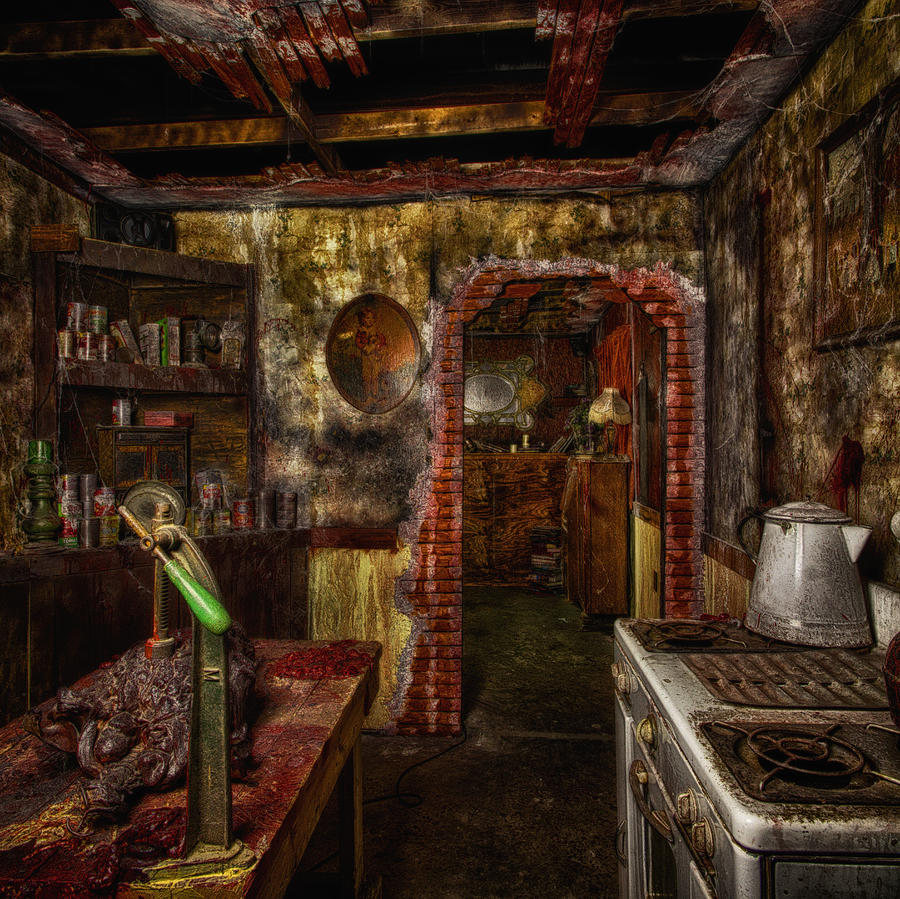 Haunted Kitchen Photograph By Daniel George