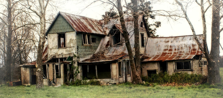 Haunted House Photograph - Haunted by Marty Koch
