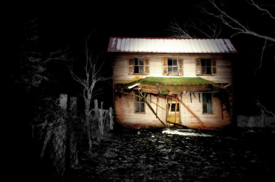 Abandoned Photograph - Haunted Ohio by Emily Stauring