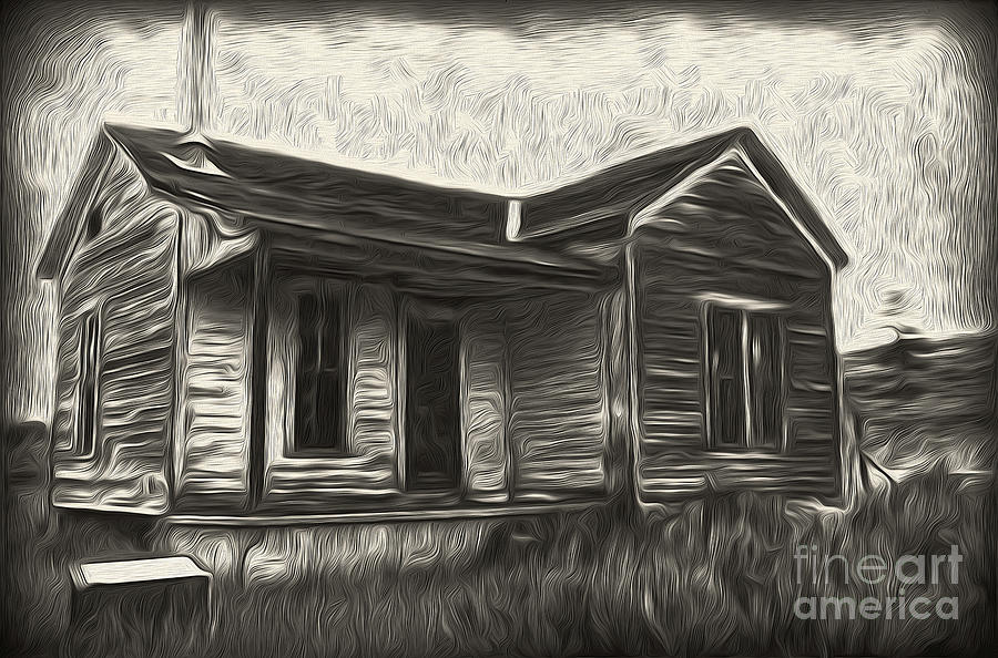Haunted Shack Painting - Haunted Shack - 02 by Gregory Dyer