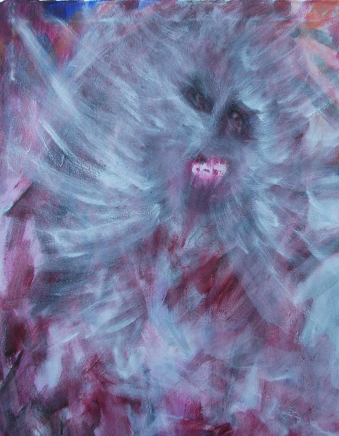 Ghosts Painting - Haunting  by Randall Ciotti