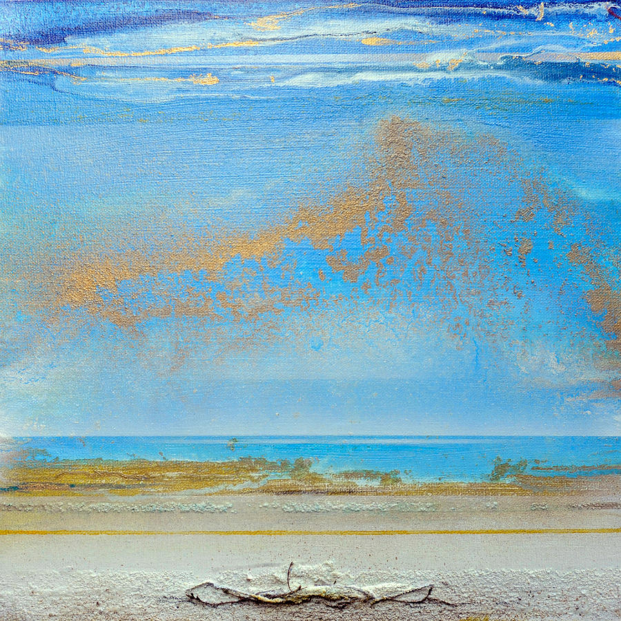 Coast Mixed Media - Hauxley Haven Rhythms And Blues  by Mike   Bell