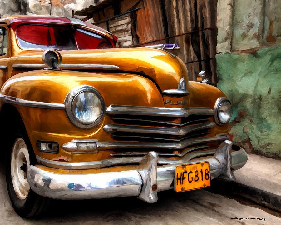 Caribbean Digital Art - Havana 2 - Caribbean Serie by Gabriel T Toro