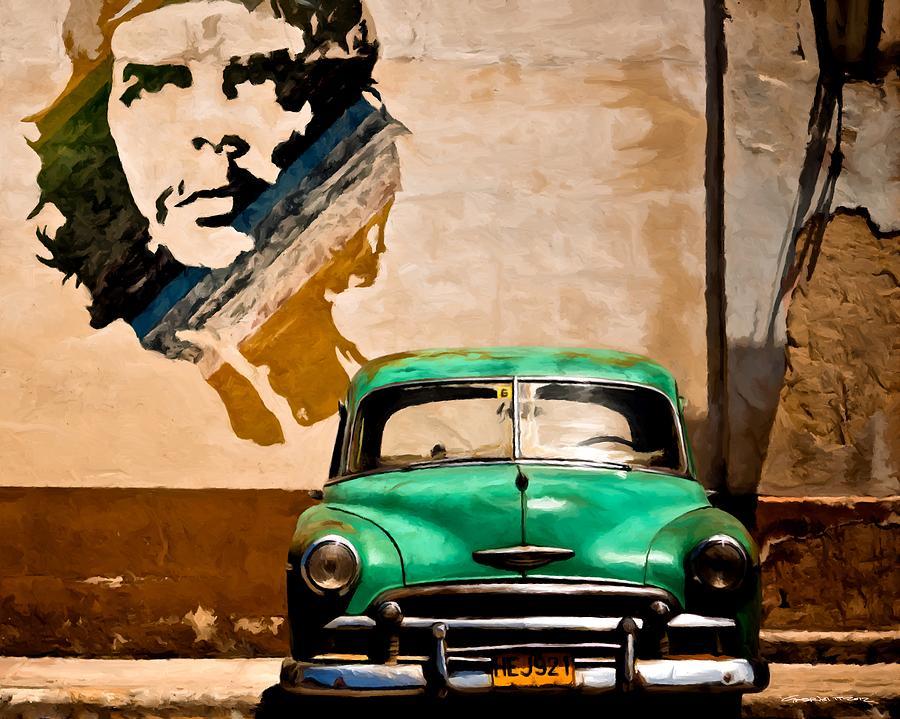 Caribbean Digital Art - Havana - Caribbean Serie by Gabriel T Toro