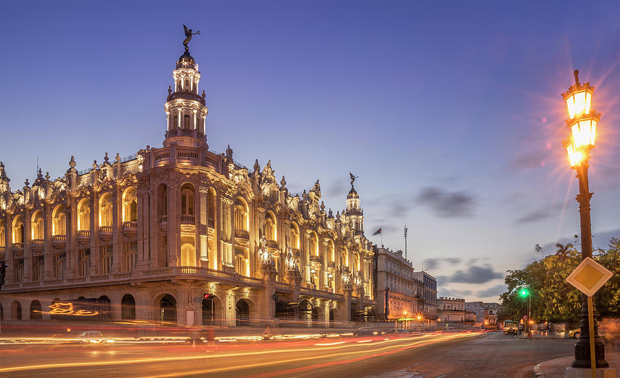 Havana, Cuba, The National Theater Photograph by Buena Vista Images