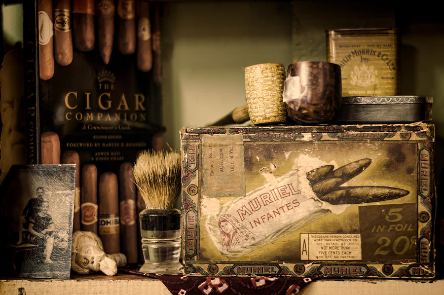Cigar Photograph - Have A Cigar by Heather Applegate