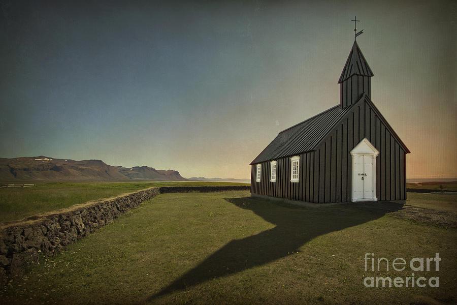 Snaefellsnes Photograph - Have A Little Faith by Evelina Kremsdorf