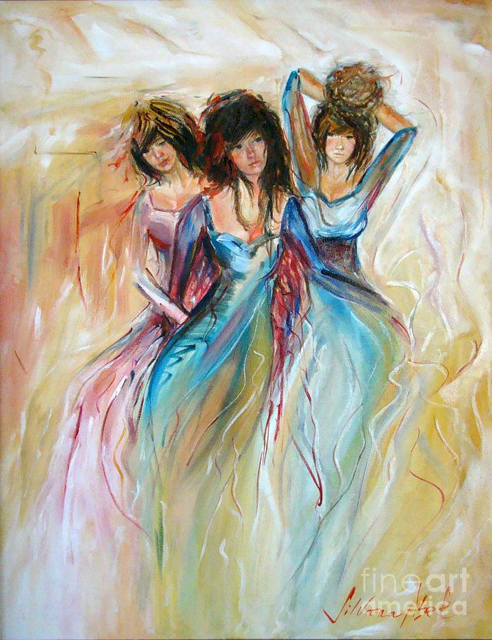 Love Painting - Having Fun by Silvana Abel