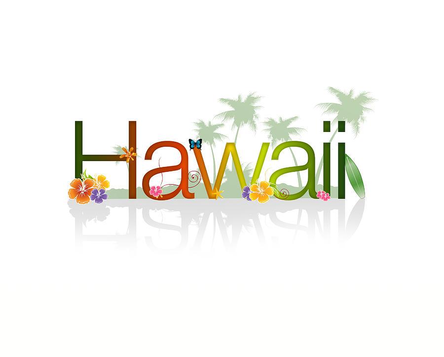 Hawaii Drawing - Hawaii by Aged Pixel