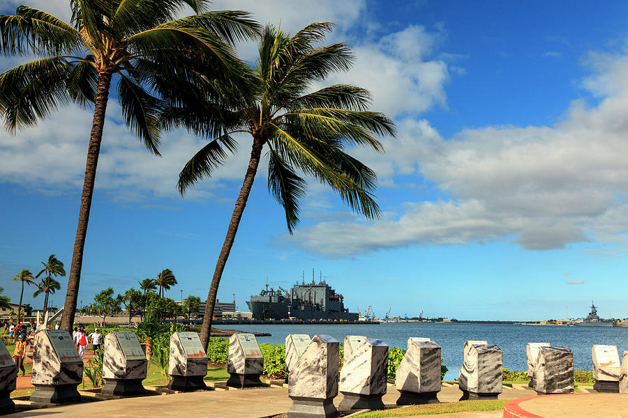 Hawaii, Oahu, Pearl Harbour Photograph by Michele Falzone