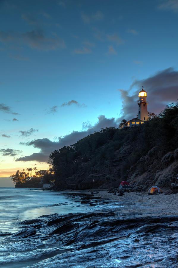 Hawaii, Oahu, Tropical Beach And Photograph by Michele Falzone