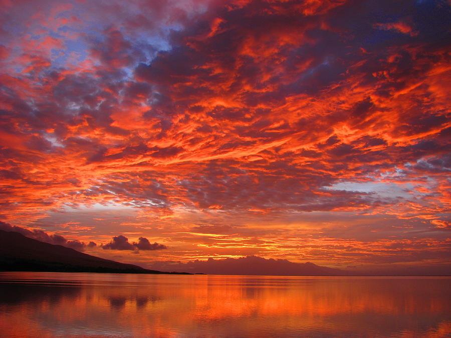 Molokai Photograph - Hawaii Sunrise by James Temple