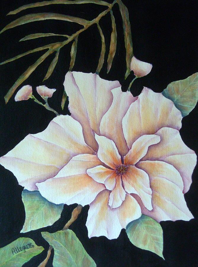 Hawaii Painting - Hawaiian Pua by Pamela Allegretto