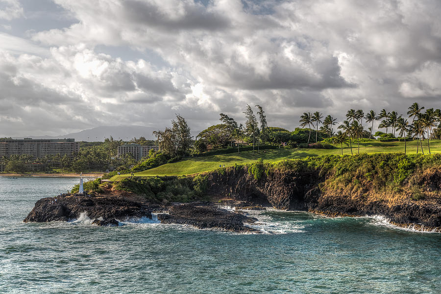 Clouds Photograph - Hawaiian Shores by Bill Lindsay