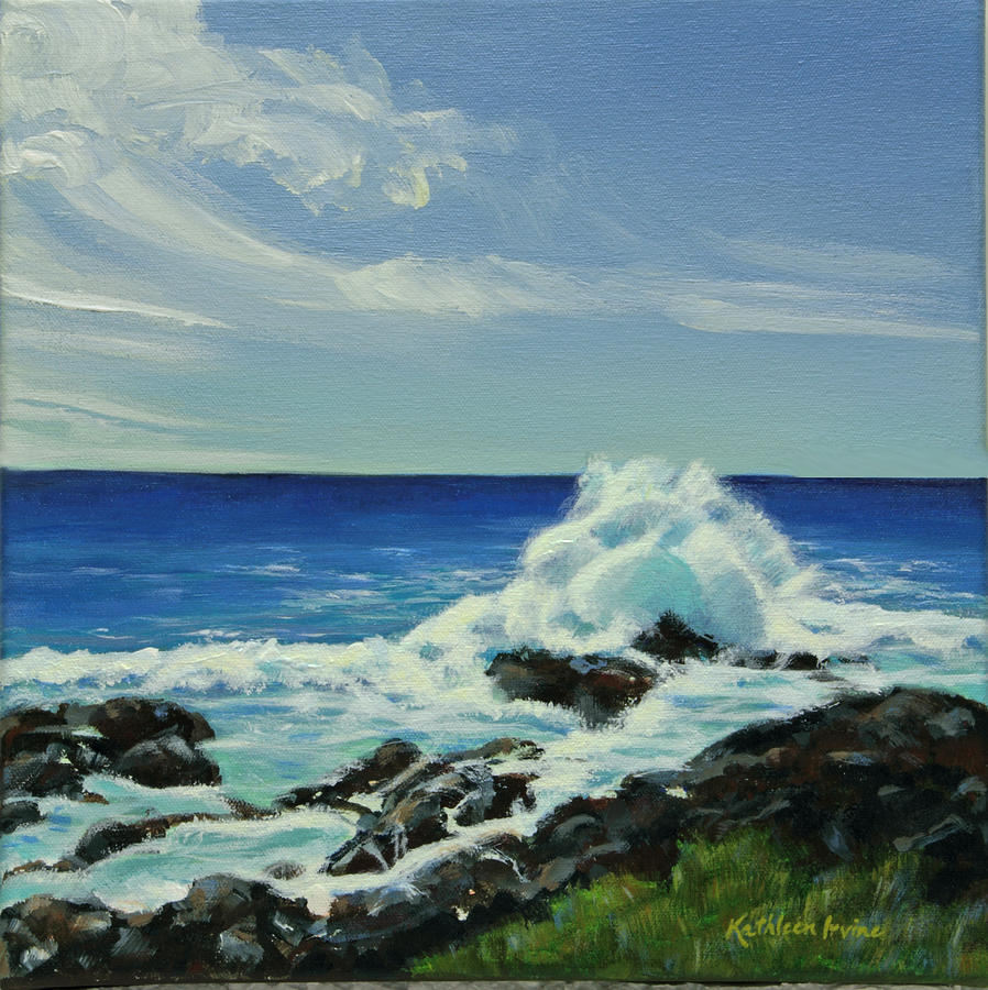 Hawaiian Shores by Kathleen Irvine