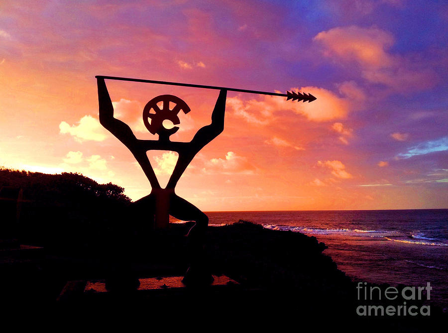 Hawaii Photograph - Hawaiian Silhouette by Kristine Merc