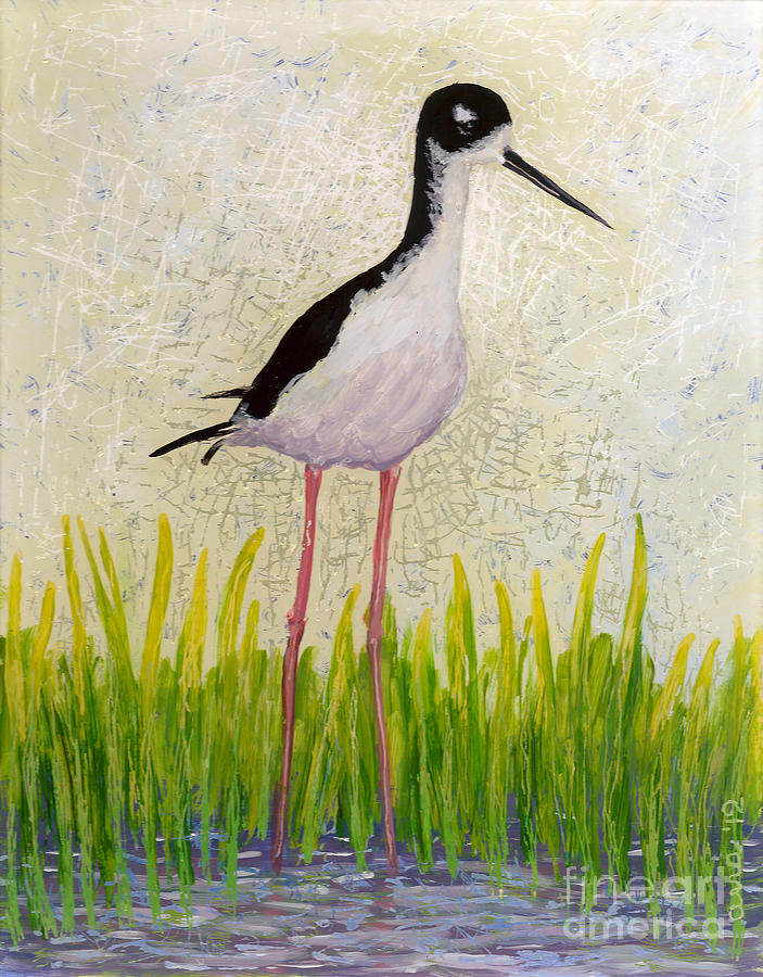 Hawaiian Stilt by Anna Skaradzinska