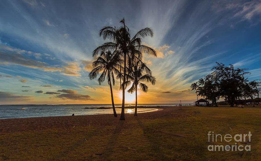 Hawaiian Sunset by Andrea Shuttleworth